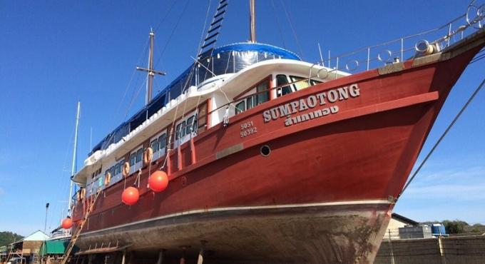Un des bateaux saisis par l'AMLO a été adjuge pour 12.9 millions