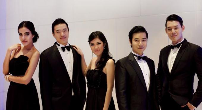 Le groupe Pop-Opéra FIVERA revient à Phuket pour une dernière au Trisara