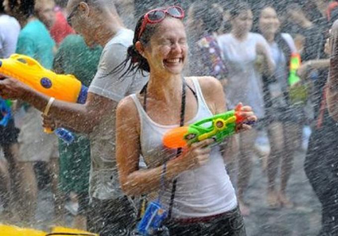 Neuf zones officielles de parties pour la Songkran à Phuket, ont été fixées, cette année.