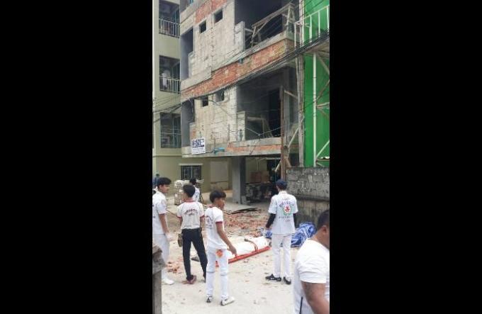 Un travailleur birman fait une chute mortelle d'un site de construction a Patong