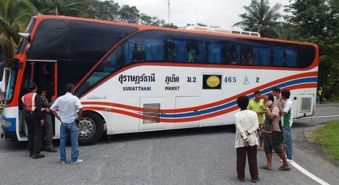 L'équipage du bus arrêté pour vol et trafic de kratom