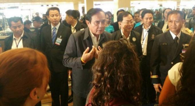 Le premier ministre Prayut est arrivé à Phuket