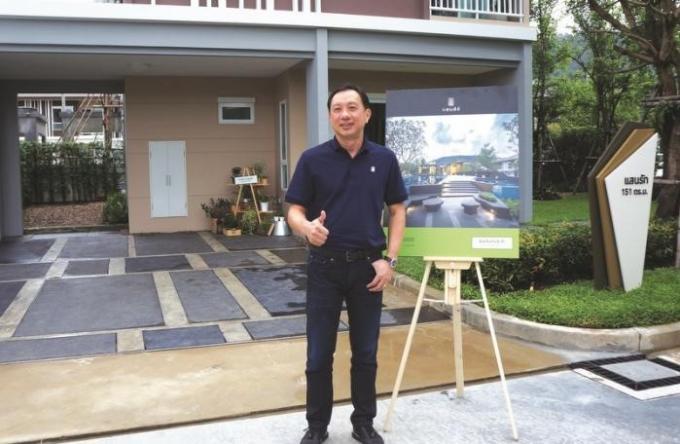Sansiri construit de nouveaux logements a Koh Kaew