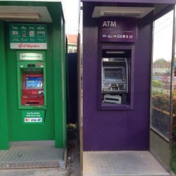 Des distributeurs automatiques de billets à Phuket ont resisté à une tentative de casse par des v