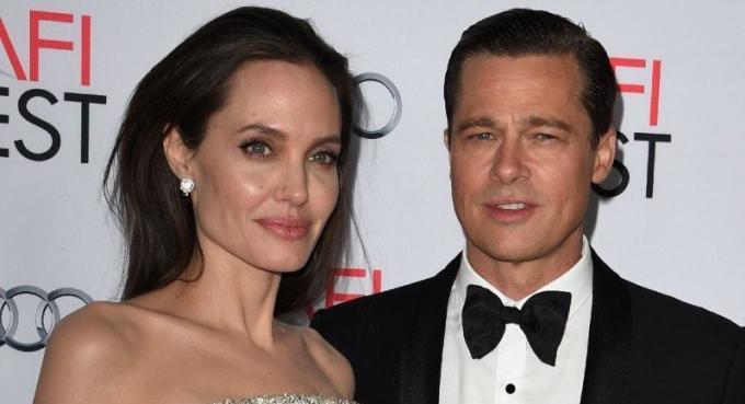 Angelina Jolie 'demande le divorce' de Brad Pitt