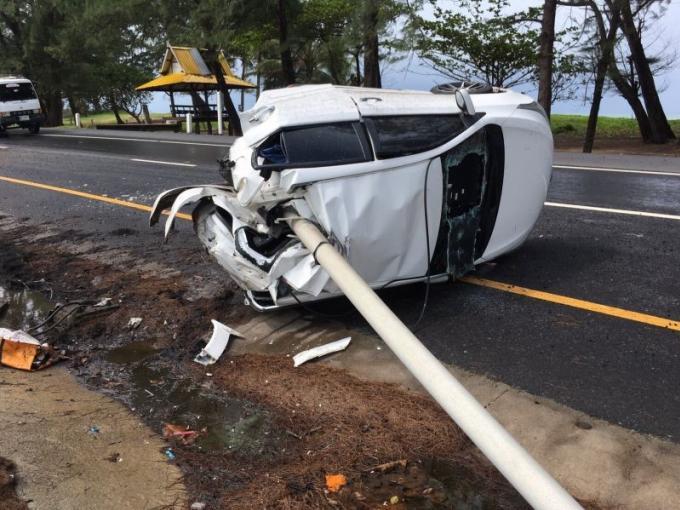 Un homme de 26 ans ressort miraculé d'un accident impressionnant