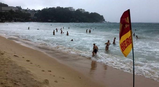 Un touriste russe se noie a Karon Beach