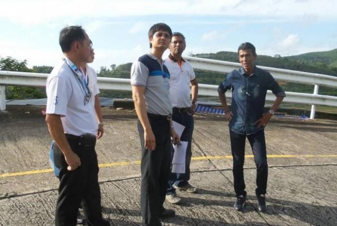 Route de l'aéroport, le plan anti glissement de terrain dévoilé le mois prochain