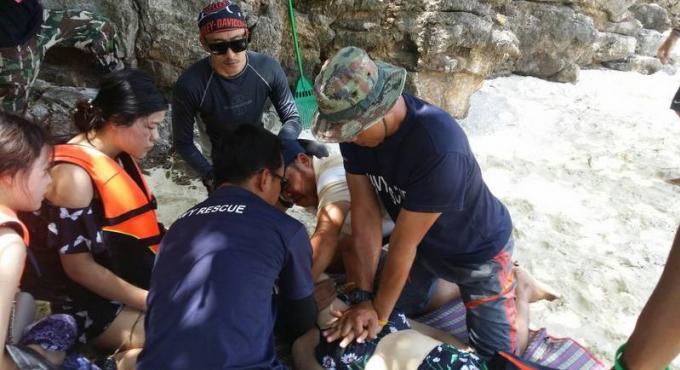 Une touriste chinoise dans le coma après s'être presque noyée lors d'une partie de snorkeling