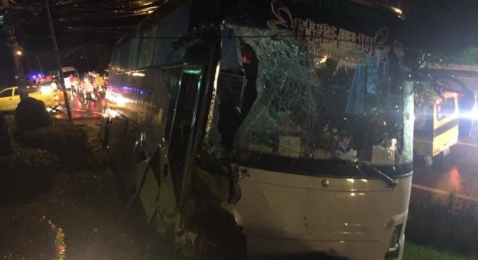 La police enquête sur l'accident de Patong Hill, les victimes sont sorties de l'hôpital