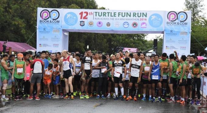 12eme Mai Khao Marine Turtle Fun Run & Mini Marathon 2016 : Une Réussite