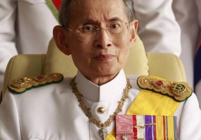 L'état du roi Bhumibol n'est
