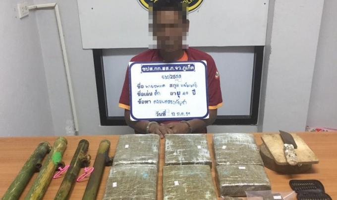 Campagne anti drogue et criminalité : Sept nouvelles interpellations à Phuket