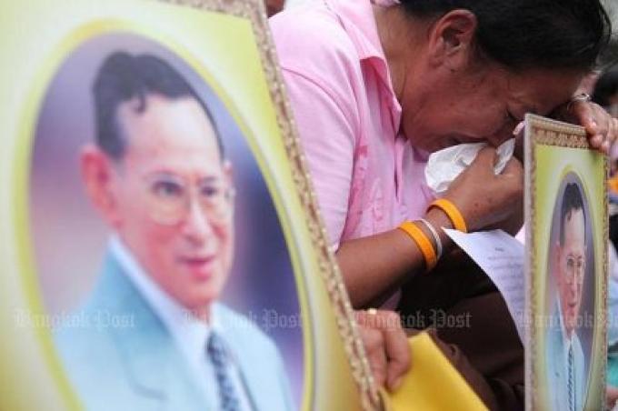 Triste nouvelle: Sa Majesté le Roi est décédé