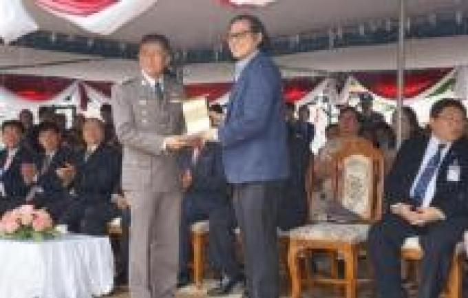 Commémoration de la journée de la Police Royale Thaïe à Phuket
