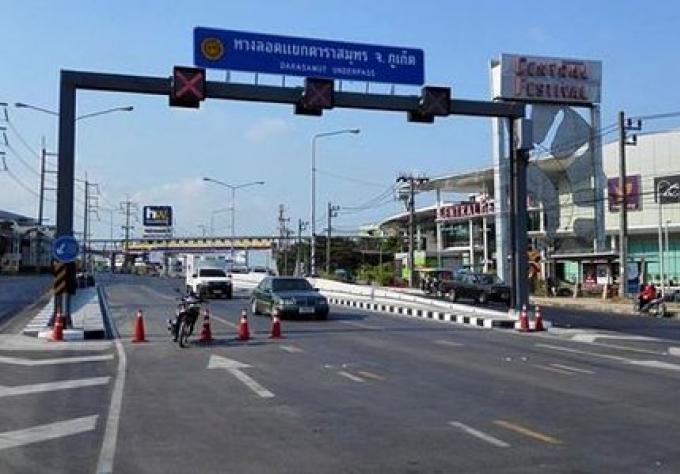 Le nouveau souterrain de Phuket devrait ouvrir complètement à midi aujourd'hui
