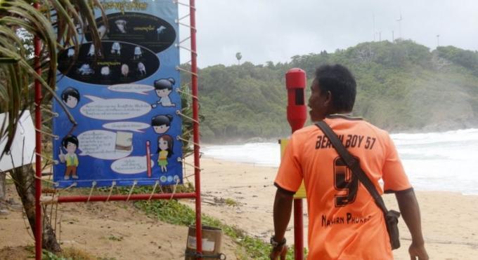 Une expert met en garde contre la présence d'Irukandji a Phuket