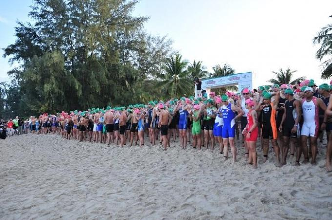 The Laguna Phuket Triathlon aura bien lieu