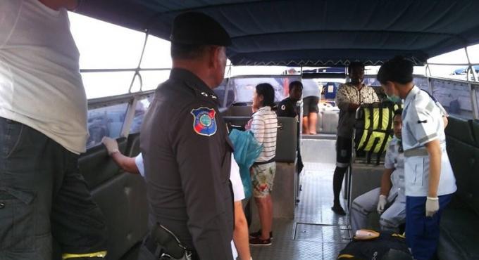 Une petite coréenne de 11 ans se noie au large de Phuket