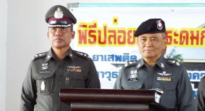 Une campagne anti drogue et criminalité majeure à Phuket avant la haute saison