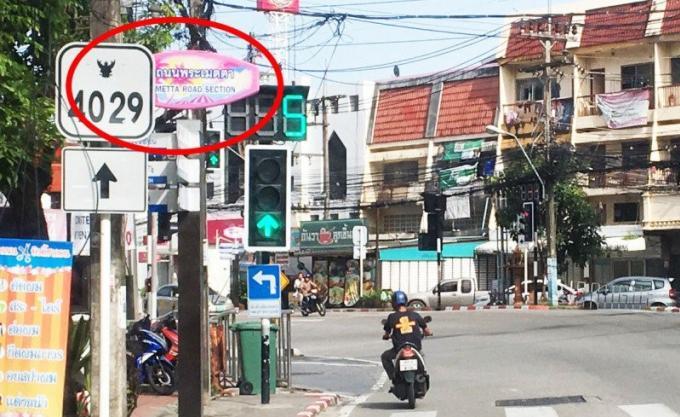 La route de la gentillesse créée la confusion a Patong
