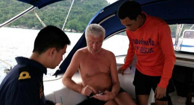 Les secouristes à la recherche d'un touriste russe disparu dans les iles Similan