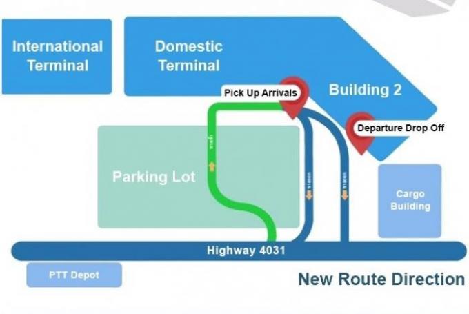 Début des rénovations dans l'ancien terminal de l'aéroport