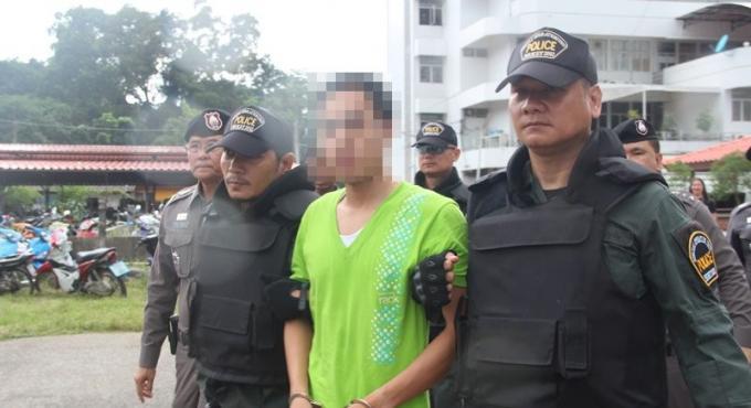 Le poseur de bombe de Phuket a avoué