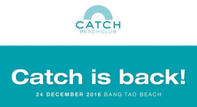 Catch Beach Club ré-ouvre à Phuket