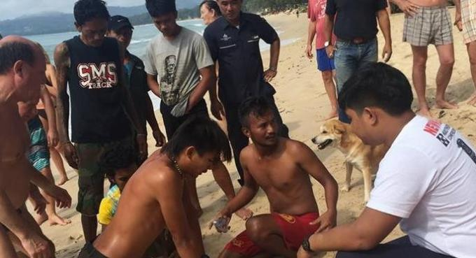 Un touriste russe se noie à Phuket