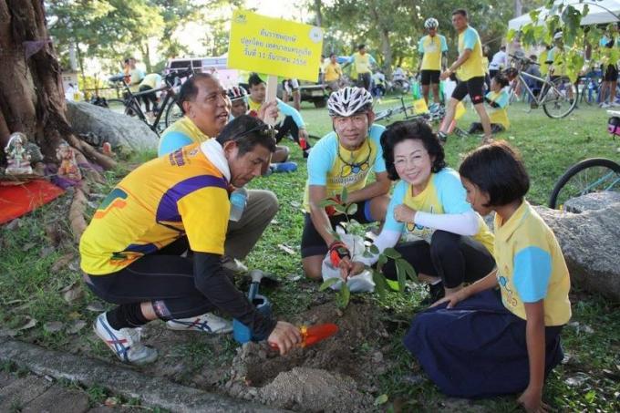 'Bike for Dad', criterium cycliste de Phuket en l'honneur de Sa Majesté le Roi