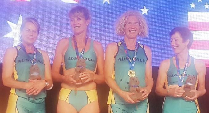Une enseignante de la BISP remporte cinq médailles lors des World Masters Athletics Championships