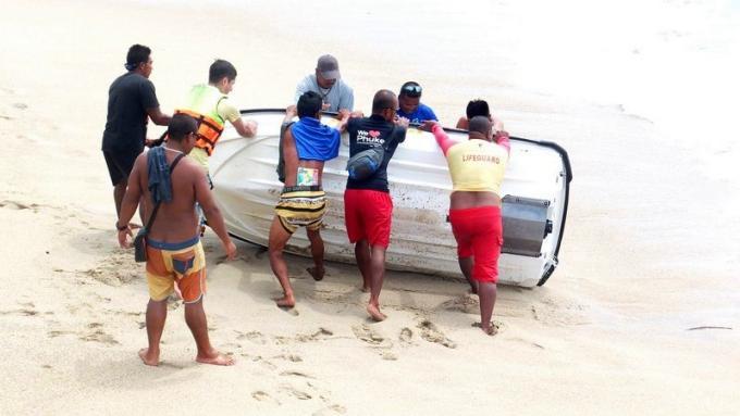 Silence radio au sujet de l'accident de jet-ski de Patong
