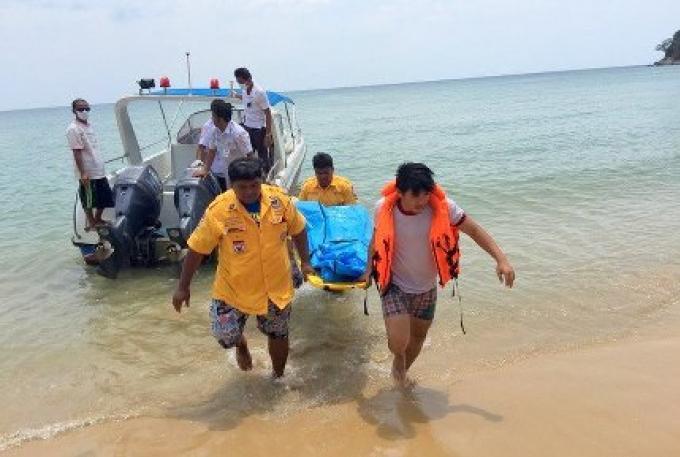 Un corps inconnu retrouvé flottant près d'une plage de Phuket