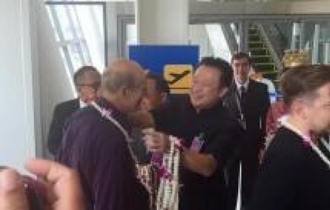 Le premier vol direct Francfort Phuket est arrivé