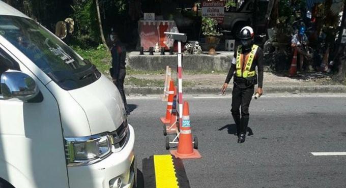 39 automobilistes arrêtés ou verbalisés au checkpoint de Kathu