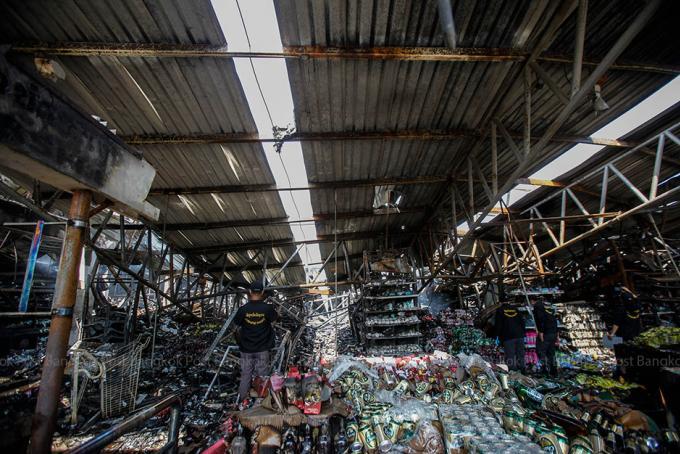 Un incendie à la coopérative de Surat Thani