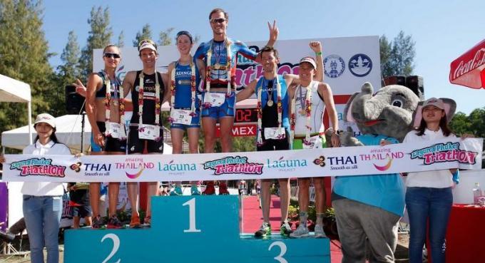 Raeleart remporte le Laguna Phuket Triathlon
