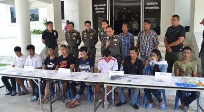 9 trafiquants de Ya Bah arrêtés