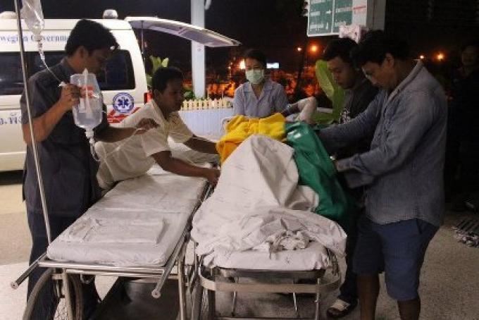 Explosion d'un bateau de pèche laisse 7 membres d'équipage grièvement blessés