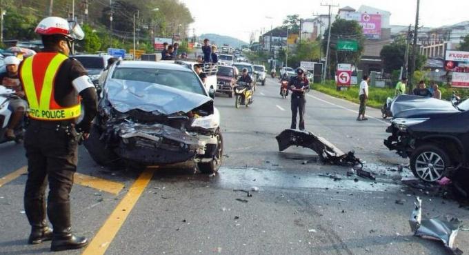 Un homme de 68 ans meurt dans un carambolage entre 4 véhicules