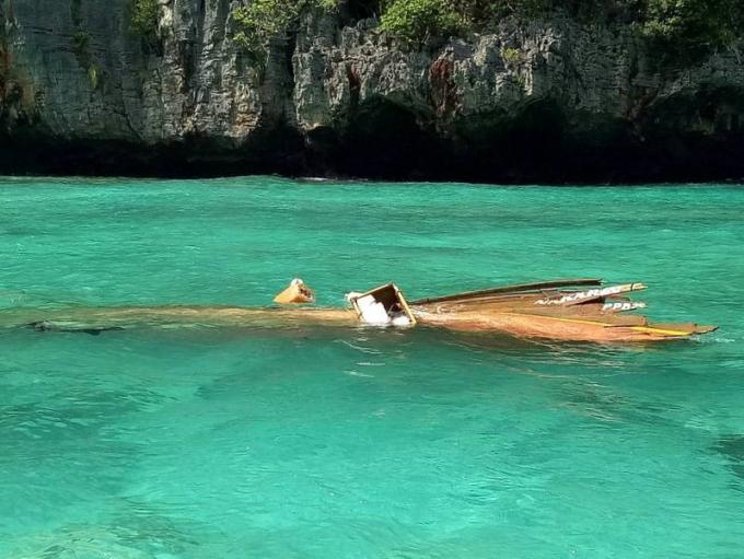 Un touriste italien blessé dans la collision entre un speedboat et un longtail au large de Phi Phi