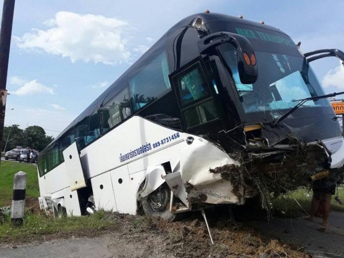 Des touristes russes blessés lors d'un accident de car