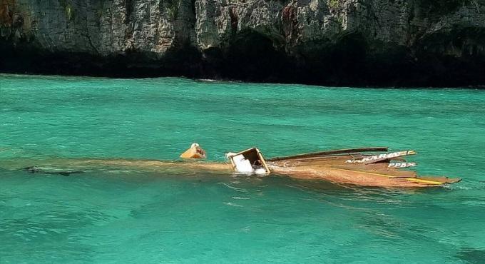 Le touriste italien blessé dans la collision de bateaux au large de Phi Phi est sorti de l'hôpit