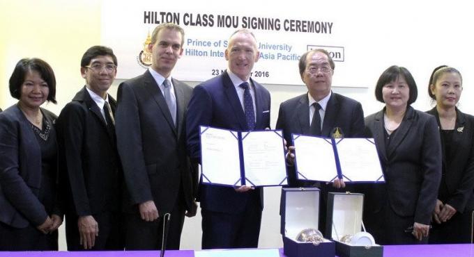 Accord Hilton - Phuket pour améliorer la qualité de l'accueil