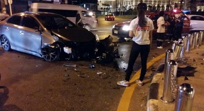 Accident a Heroines Monument, un policier dans un état critique