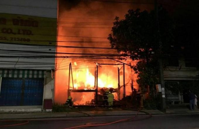 Un sans-abri responsable d'un incendie à Phuket Town