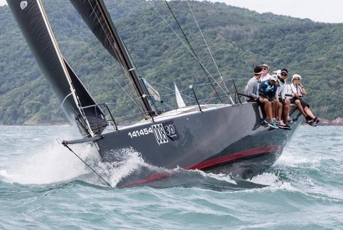 Des vents puissants ont rendu la navigation très sportive pour le 2eme jour de la King's Cup Rega