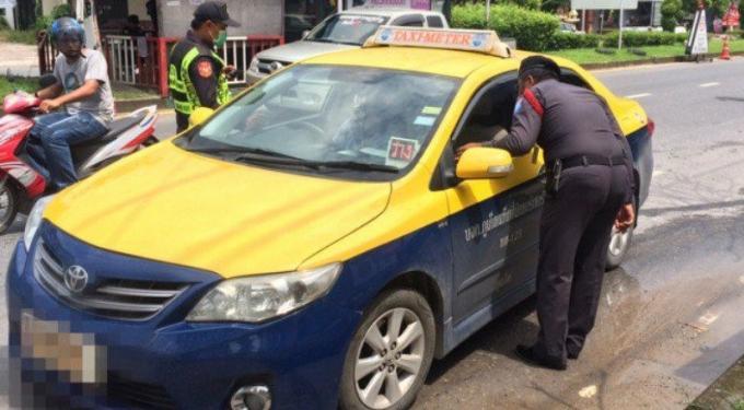 L'armée a la poursuite d'un chauffeur de taxi qui refuse de prendre une course