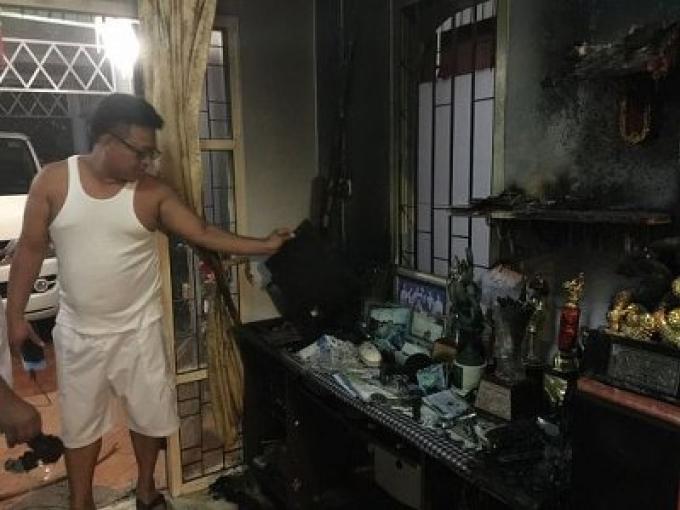 Une maison des Esprits prend feu et  cause des dommages de  B20,000